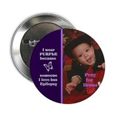 "Pray for Bruno2.25"" Button (10 pack)"