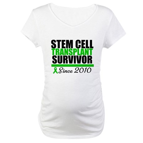 SCT Survivor 2010 Maternity T-Shirt