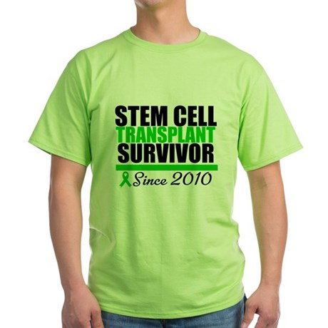 SCT Survivor 2010 Green T-Shirt
