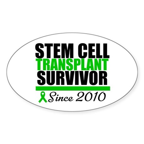 SCT Survivor 2010 Sticker (Oval 10 pk)