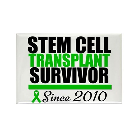 SCT Survivor 2010 Rectangle Magnet