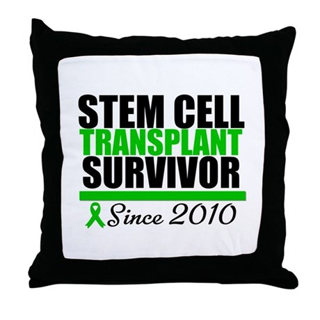 SCT Survivor 2010 Throw Pillow