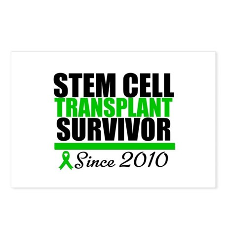 SCT Survivor 2010 Postcards (Package of 8)