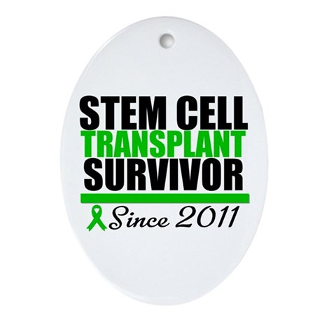 SCT Survivor 2011 Ornament (Oval)