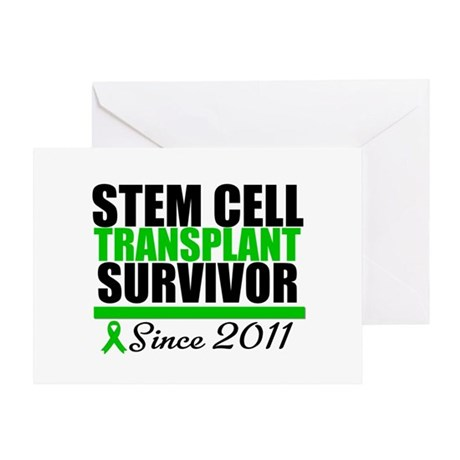 SCT Survivor 2011 Greeting Card