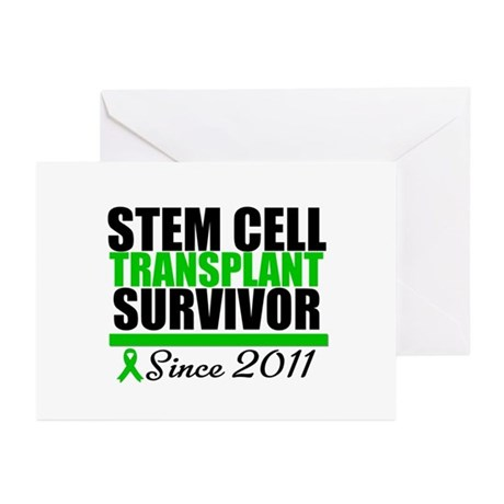SCT Survivor 2011 Greeting Cards (Pk of 20)