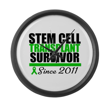 SCT Survivor 2011 Large Wall Clock
