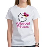 Volleyball Princess Gift Tee