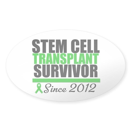 SCT Survivor 2012 Sticker (Oval)