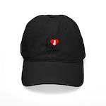 I Love My Golden Retriever Black Cap
