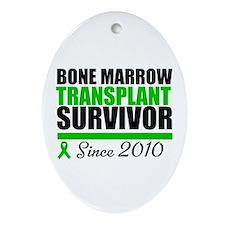 BMT Survivor 2010 Ornament (Oval)
