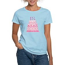 15th Anniversary Cake T-Shirt