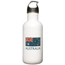 Vintage Australia Sports Water Bottle