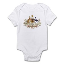 Vintage Australia Coat Of Arms Infant Bodysuit