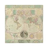 World map duvet Queen Duvet Covers