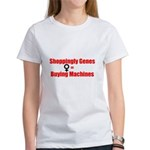 Shoppingly Genes Women's T-Shirt