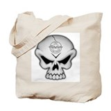 SKULL Chrome Tote Bag