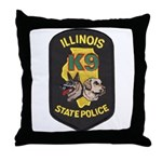 Illinois SP K9 Throw Pillow