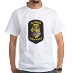 Illinois SP K9 White T-Shirt