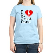 I Love My Great Dane T-Shirt