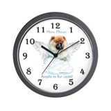 Chow 3 Wall Clock