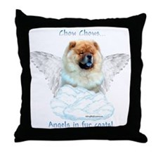 Chow 3 Throw Pillow