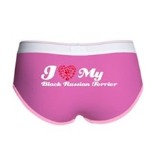 I love my Black Russian Terrier Women's Boy Brief