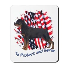 Rottie 2 Mousepad