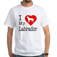 I Love My Labrador Retriever Shirt