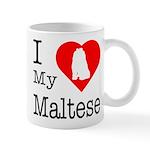 I Love My Maltese Mug