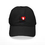I Love My Maltese Black Cap