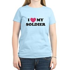 Cute I love my soldier T-Shirt