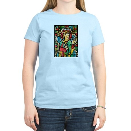 Stained Glass Queen Light T-Shirt