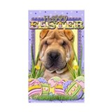Easter Egg Cookies - Shar Pei Decal