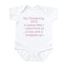 My Christening Day Infant Bodysuit