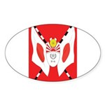 Kempeitai Sticker (Oval 50 pk)