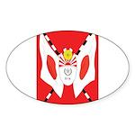 Kempeitai Sticker (Oval 10 pk)