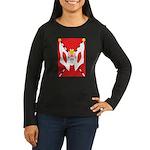 Kempeitai Women's Long Sleeve Dark T-Shirt