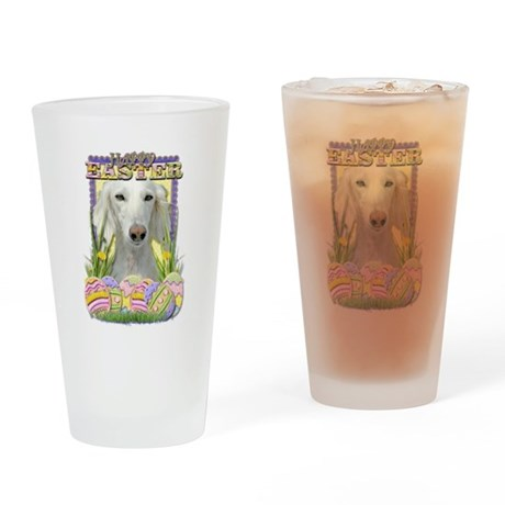 Easter Egg Cookies - Saluki Drinking Glass