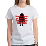 Wear a sneer Women's T-Shirt
