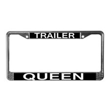 TRAILER QUEEN License Plate Frame