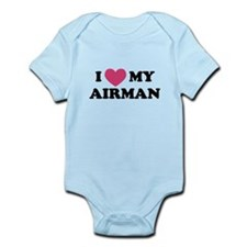 Unique I love my air force mom Infant Bodysuit