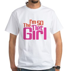 Net Girl White T-Shirt