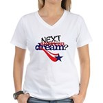 Next american dream Women's V-Neck T-Shirt