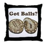 Got Balls? Throw Pillow