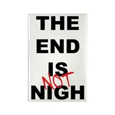 The End Is Not Nigh 2012 Rectangle Magnet (100 pac