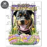 Easter Egg Cookies - Rottie Puzzle