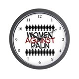 Women Against Palin Wall Clock