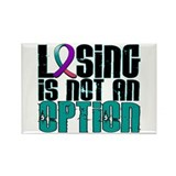 Losing Is Not An Option Thyroid Cancer Rectangle M
