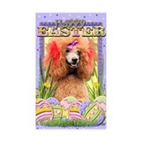 Easter Egg Cookies - Poodle Decal